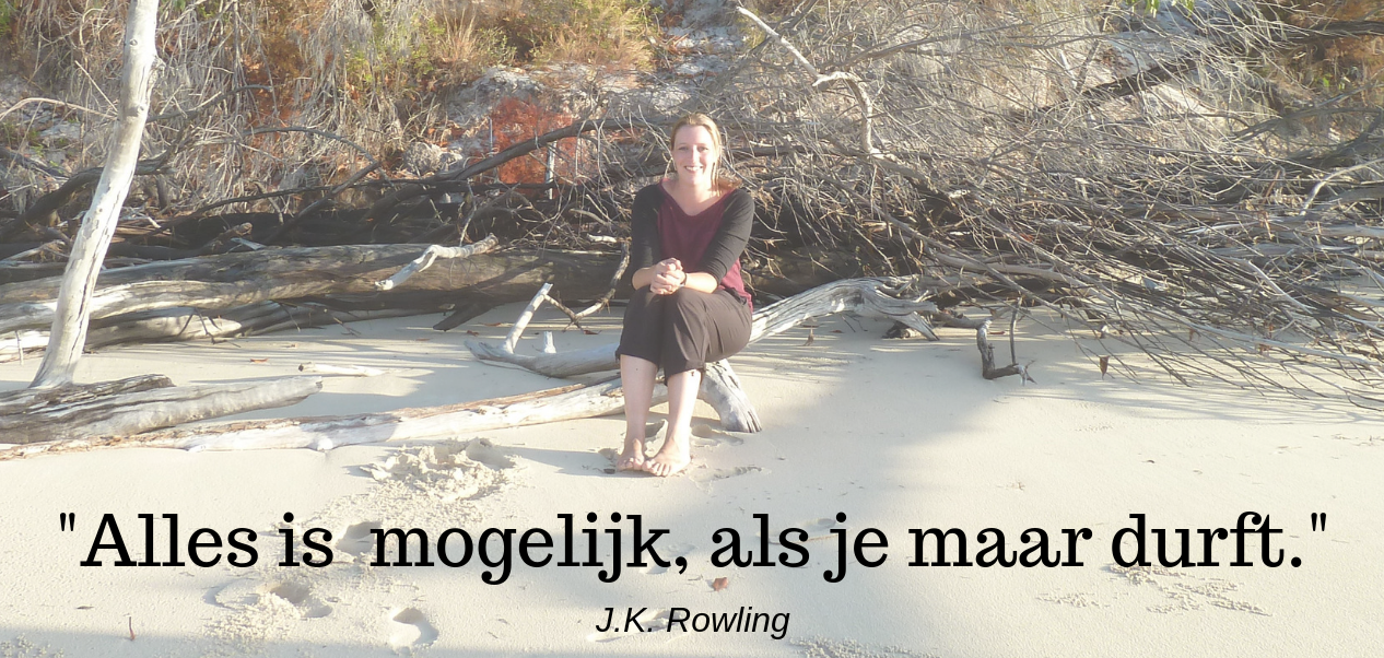 Alles is mogelijk, als je maar durft - J.K. Rowling